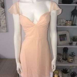 Nasty Gal peachy dress
